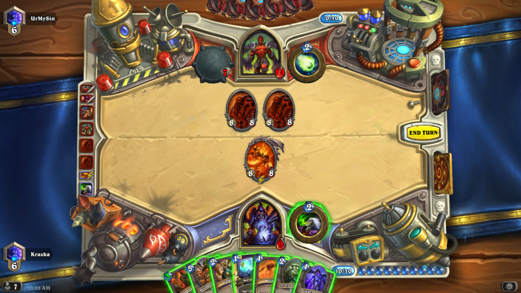 Puzzle #2 - Hearthstone Screenshot 06-11-15 11.52.22