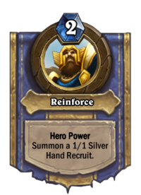 Paladin Hero Power small